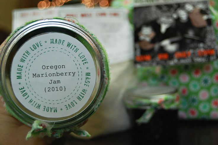 Made With Love Canning Labels - free printable by Kate's Short and Sweets