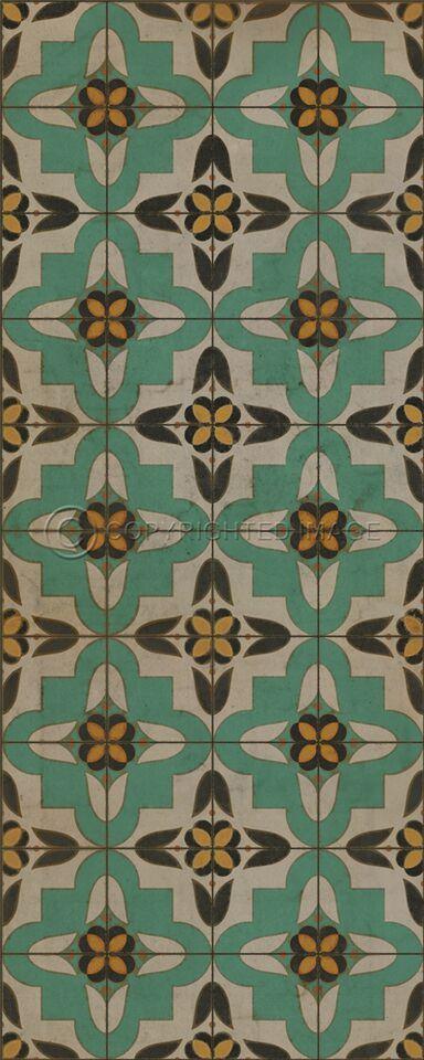 Pura Vida Home Decor - Pattern 33 Passpartou vinyl floor cloth, $50.00 (http://stores.puravidahomedecor.com/pattern-33-passpartou-vinyl-floor-cloth/)