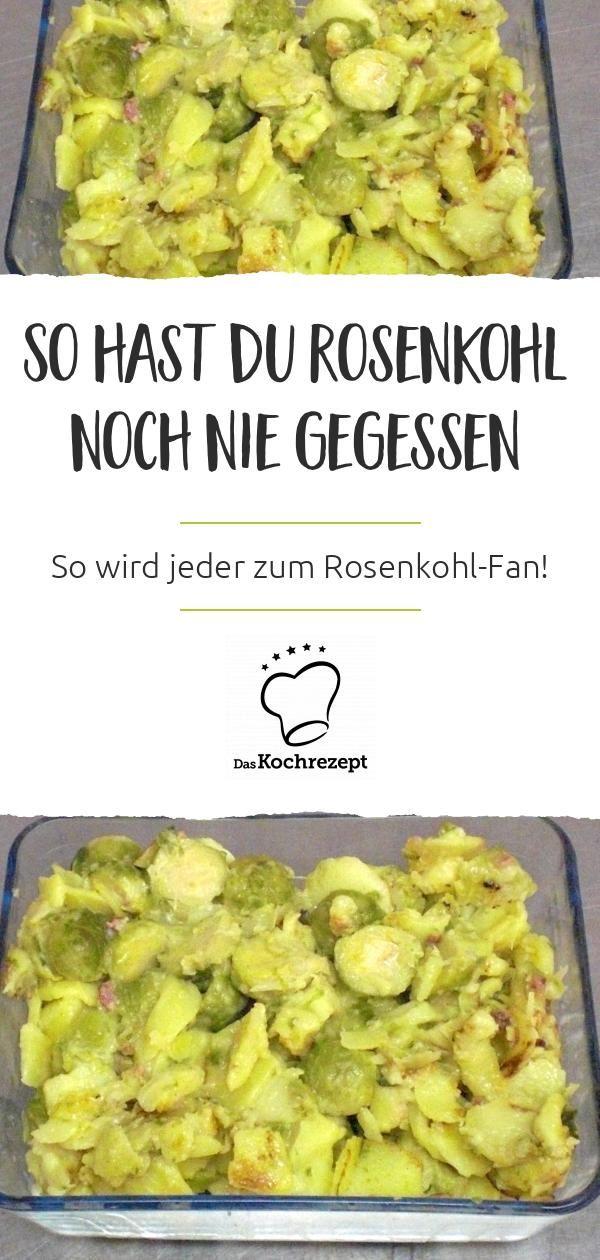 Schmorkartoffeln mit Rosenkohl (Resteverwertung) – dasKochrezept.de