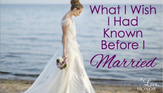 Wifey Wednesday: What I Wish I Had Known Back Then