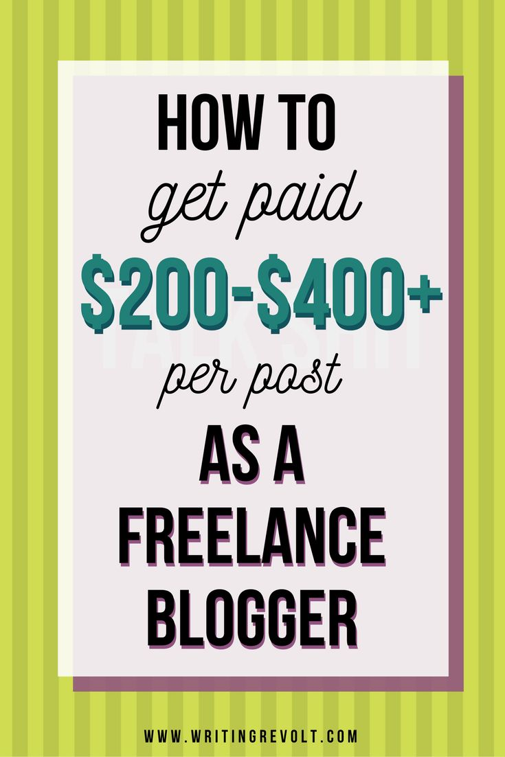 Want to get paid the big bucks for your freelance blogging work? Check out this post + video to learn EXACTLY what you need to do to make it happen!   freelance writing tips   freelance writing for beginners   writing articles for money   getting paid to