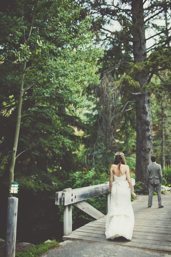 First Look | Utah Wedding via Engaged & Inspired