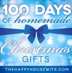 100 Days of Homemade Christmas Gifts