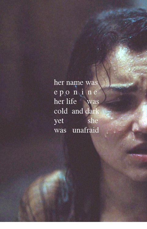 Eponine. I will be forever grateful that I got to play this role.