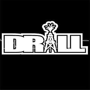 Drill Oil Rig Oilfield Roughneck Sticker Vinyl Decal Graphic ...
