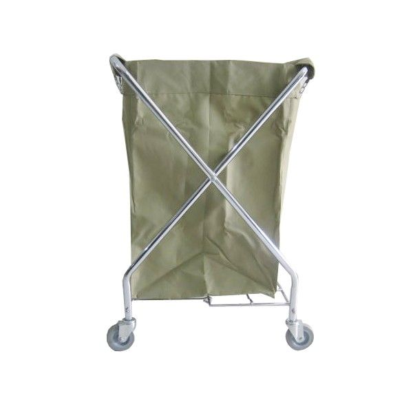 Laundry Cart X-Shape.  - Type		308KL-LCX - Material	:	Stainless Trolley,  - product size 	:	62X60X98.5CM - Harga per unit.  http://alatcleaning123.com/janitorial-trolley/1648-laundry-cart-x-shape.html  #laundrycart #alatlaundry #alatcleaning