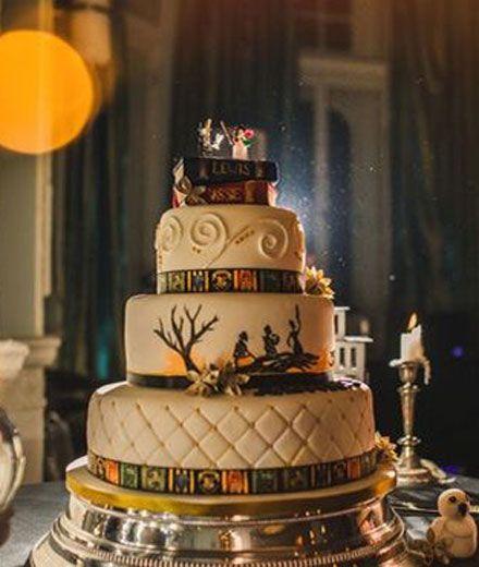 """Dieses Paar feiert eine """"Harry Potter""""-Hochzeit mit allem was dazu gehört"""