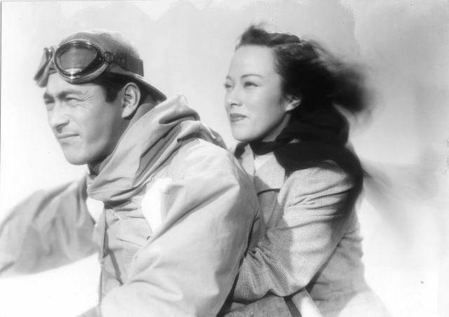 Toshiro Mifune and Shirley Yamaguchi in Shūbun I Scandal  (Akira Kurosawa, 1950