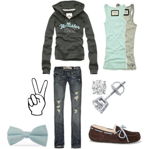 Friday SCHOOL. -abercrombie hco ugg ectt | Moda femenina Mi estilo y Femenino