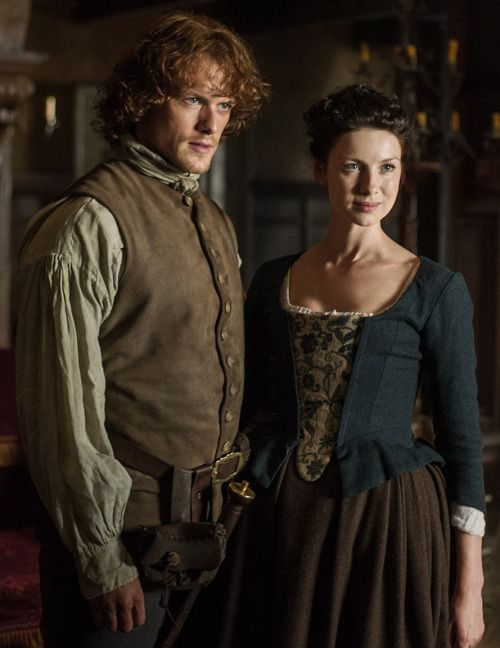 Outlander: Jamie and Claire looking flawless as always