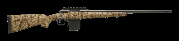 Savage Model: 10 FCP-SR .308 Law Enforcement Sharpshooter Rifle, minus the optics
