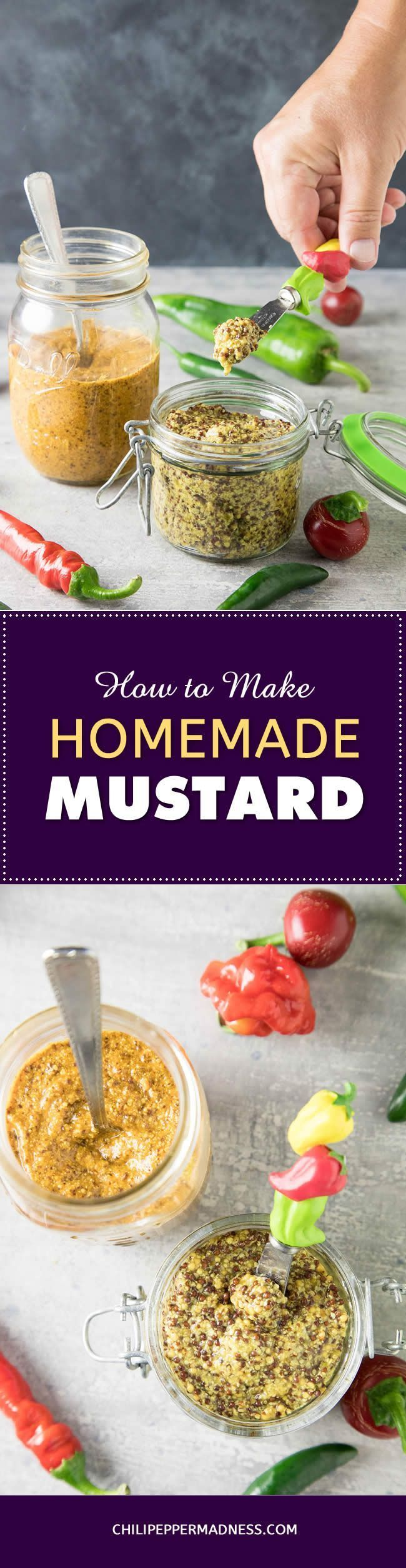 How to Make Homemade Mustard – the Basics - Ever wonder how to make your own mustard? It's actually quite easy to do, with only a few simple steps. Here is how to make mustard at home.