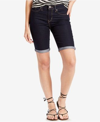 Shop Now - >  https://api.shopstyle.com/action/apiVisitRetailer?id=627703506&pid=uid6996-25233114-59 Levi's Bermuda Shorts  ...