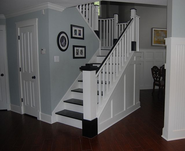 See How To Transform Your Carpeted Stairs Into Beautiful Painted Wood Stairs  With This DIY Stair Remodel.