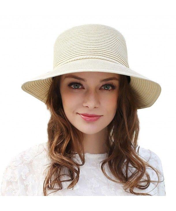 5903fdca Hats & Caps, Women's Hats & Caps, Sun Hats, Womens Straw Sun Hat UPF ...