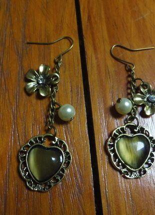 A vendre sur #vintedfrance ! http://www.vinted.fr/accessoires/boucles-doreilles/13567734-bo-coeur-metal-vieilli