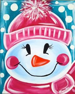 Let It Snow - Tallahassee, FL Painting Class - Painting with a Twist