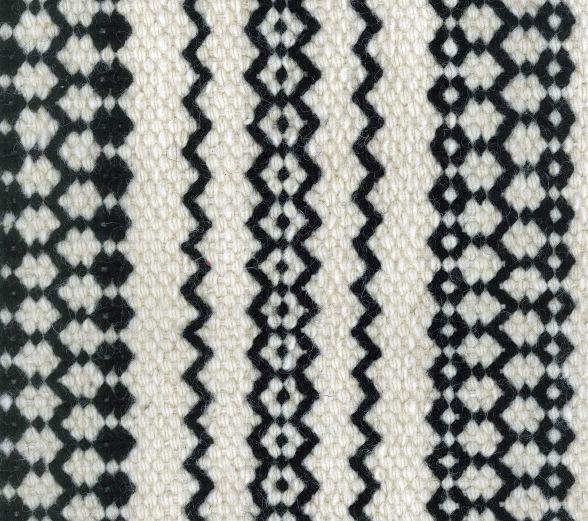 CARAVANE - Feroe motif 2 - Tapis en pure laine