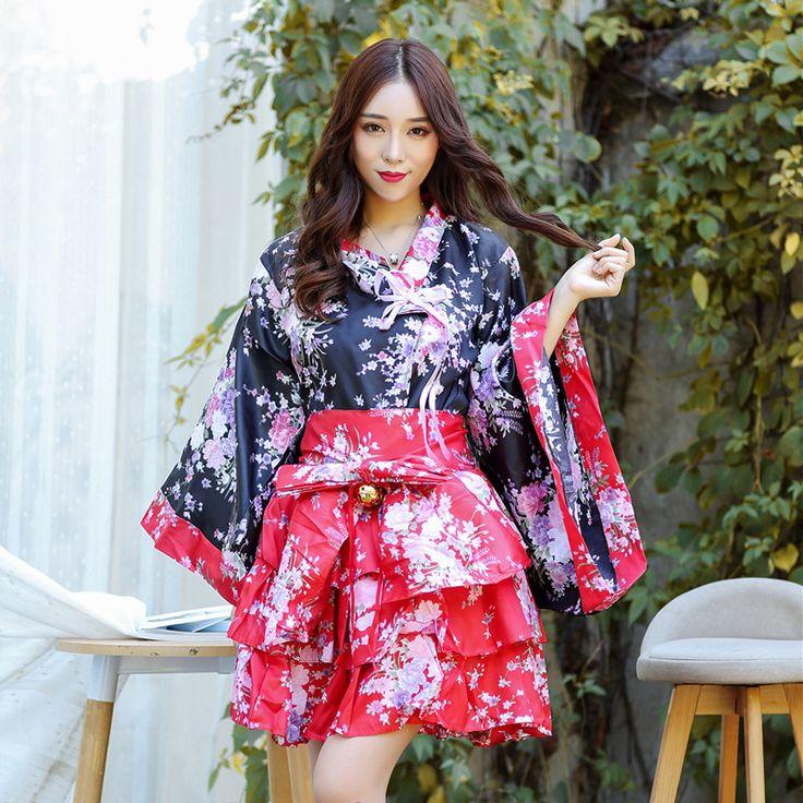Modern design japanese kimono dress japanese traditional