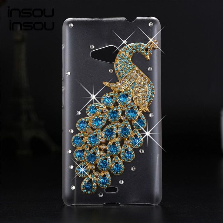 Luxury 3d case For Microsoft Lumia 535 ,Crystal Bling Case Rhinestone Cover For Nokia Microsoft Lumia 535 case Dual SIM Cover