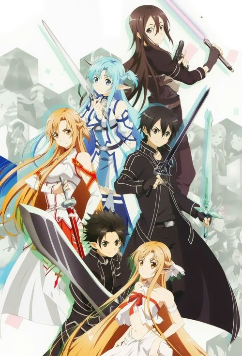 ~Sword Art Online ~ Fary dance . Sao . Alo . Kirito and Assuna