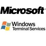 Remote Desktop Services (RDS), formerly known as Terminal Services, is one of the components of Microsoft Windows (both server and client versions) that allows a user to access applications and data on a remote computer over a network, using the Remote Desktop Protocol (RDP).