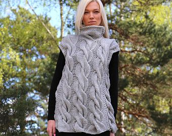 Instant Download PDF pattern. Hand knitted long от IlzeOfNorway