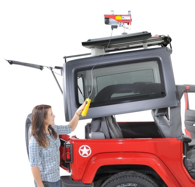 The Jeep Hoist-A-Top Is A Must Have For Wrangler Owners