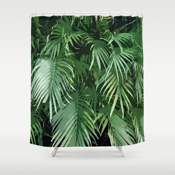 Shop The Latest Green Tropical Shower Curtain Products From Kess InHouse,  Nature
