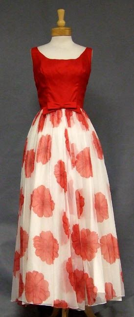 this dress left my mouth gaping open for a good 3 minutes.   Evening Dress    1960s