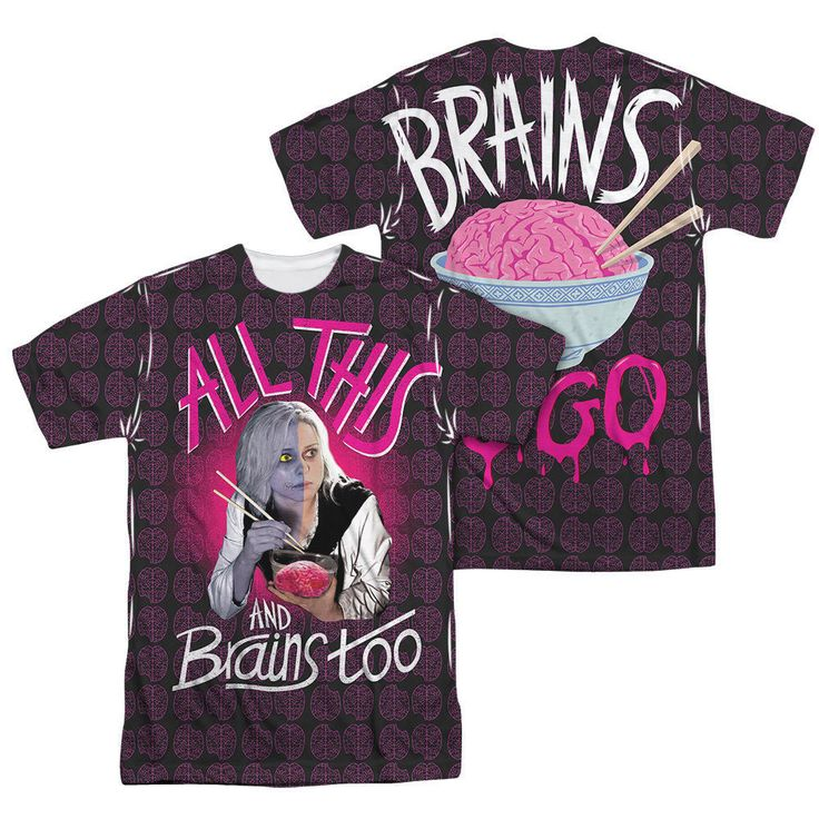 iZombie All This and Brains Sub T-Shirt