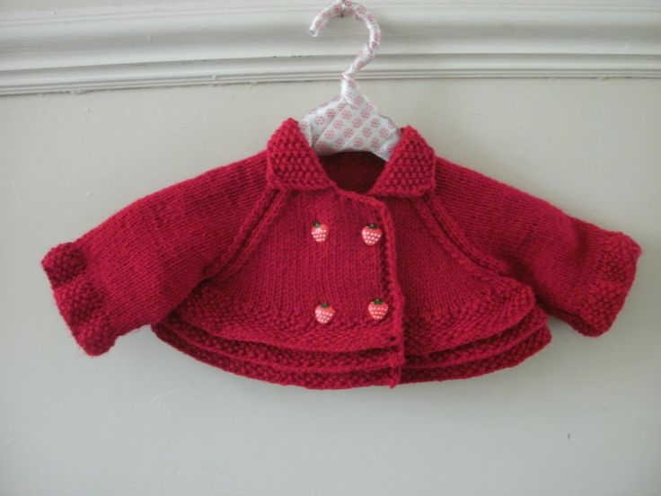 cropped baby jacket with ruffle feature