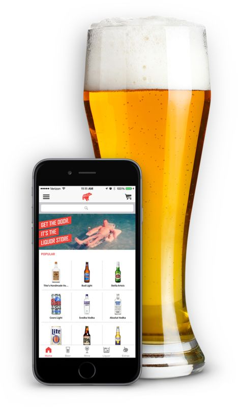 Helpful apps for Super Bowl or any party: Drizzly LIquor Delivery app: Nearly 20 cities, delivery in 1 hour