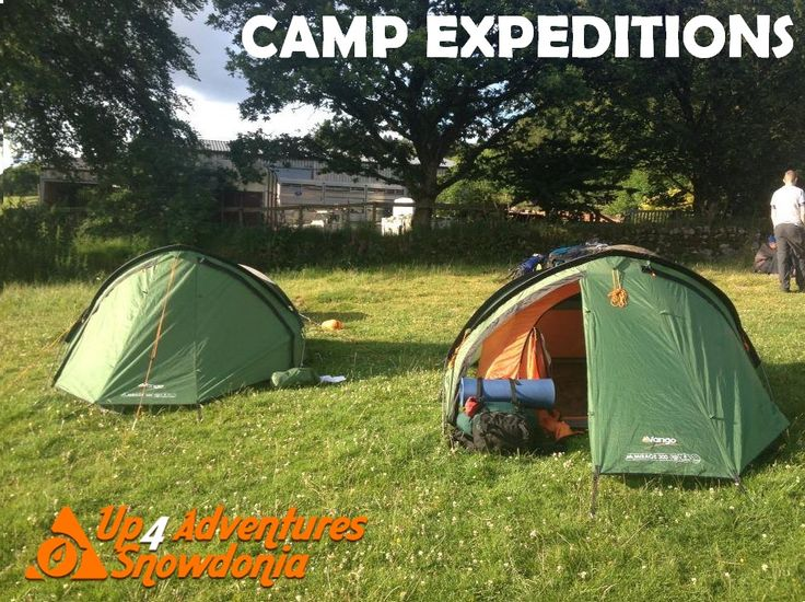 Camp expeditions with Up4Adventures