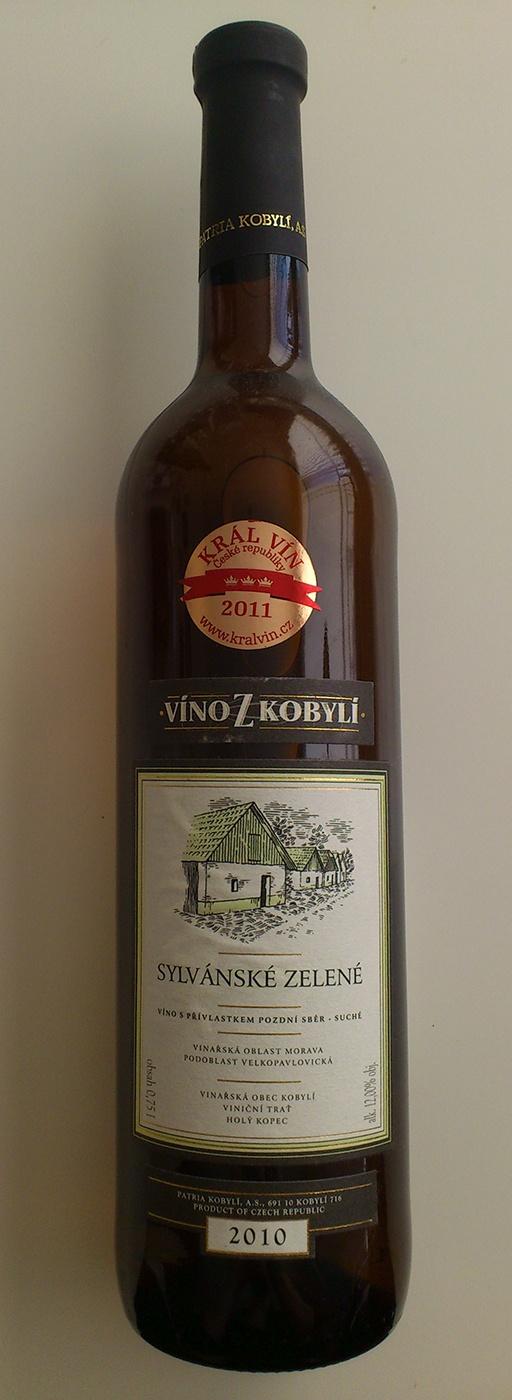 Vino z Kobyli Slyvanske Zelene / 12-06-22 / Moravia, Czech Republic | We brought this wine in local Kobyli Vinoteka (Moravia wine region, Velke Pavlovice sub-region). Seller advised to taste Kral Vin winner in 2011 (CZ wine contest). Still waiting for the right moment to taste. Website for the wine: http://www.vinozkobyli.cz/