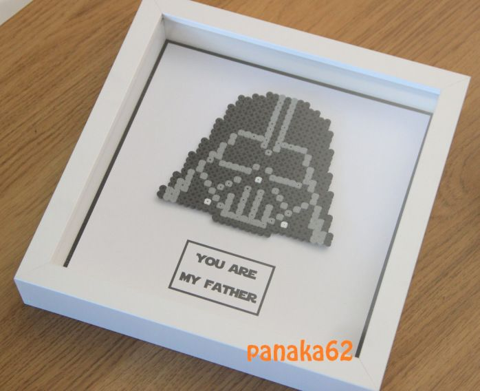 Cadeau fête des Pères : Hama Beads ou Perles à repasser – DIY