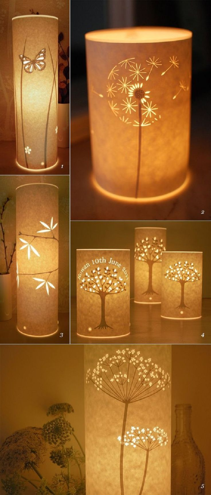 Beautiful DIY Paper Lamps - 15 Most PINteresting DIY Paper Decorations | GleamItUp