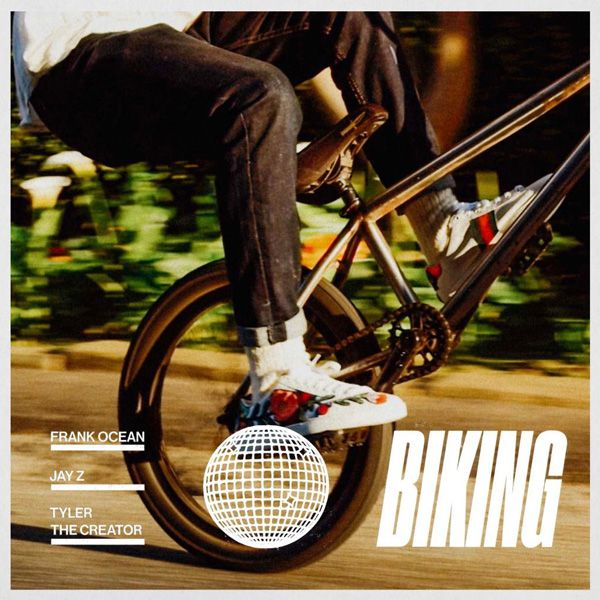 "Listen To Frank Ocean's New Song 'Biking' Featuring Jay Z And Tyler, The Creator  Watch a video clip preview  Frank Ocean is feeling more prolific than ever lately. After ""Slide"" and ""Chanel"" last month, he's just released another new song entitled ""Biking."" The song features Jay Z and Tyler, the Creator and was teased with a short video clip on Ocean's blonded.co website."