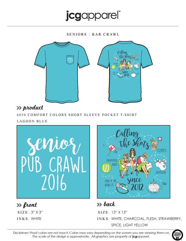 Bar Crawl Shirt
