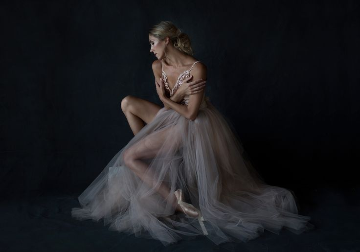 Ballerina, creative portrait with natural light