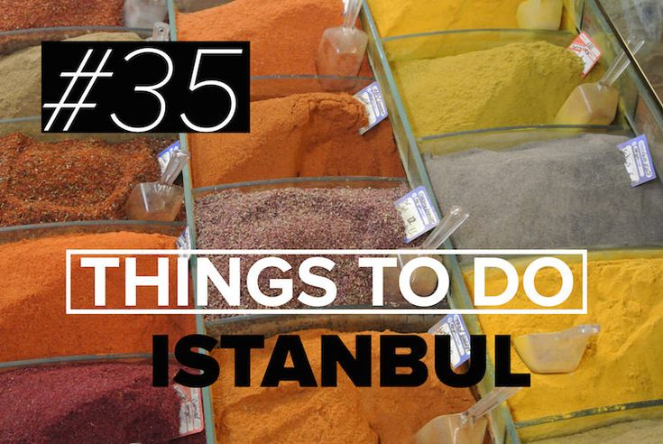 There are so many things to do in Istanbul... here are 35 to get you started! Find out our favourites and start planning your holiday to Istanbul!