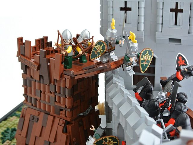 17 best images about lego on pinterest game of thrones castles lego games and lego - Knights of the round table lego ...