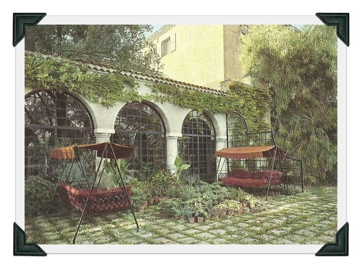 """""""The garden was equally simple, planted with lavender and rosemary and all around, the smoky light filtering through centuries-old olives. Chanel had a wonderful sense of luxury and great taste."""" Roderick Cameron"""