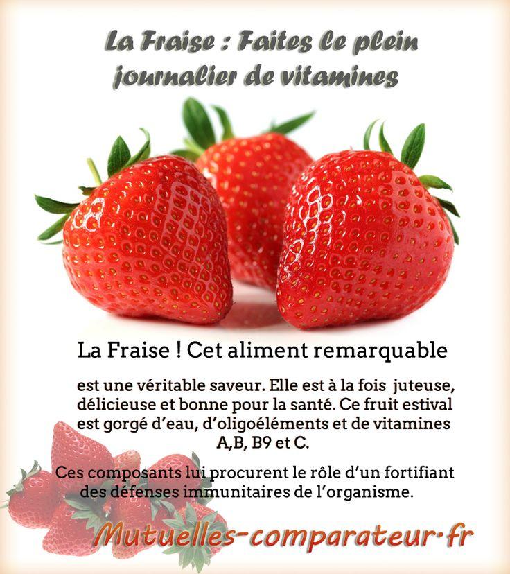 la fraise faites le plein journalier de vitamines la fraise est conseiller pour les r gimes. Black Bedroom Furniture Sets. Home Design Ideas