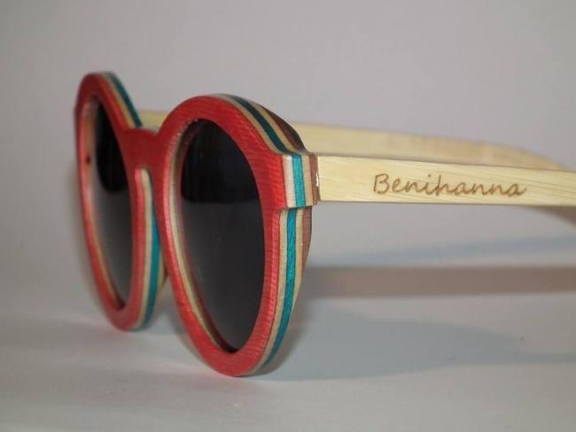 Benihanna WOOD, gafas de madera 100% ecofriendly