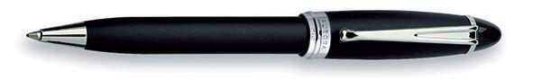 Aurora Ipsilon Satin Black Ballpoint Pen