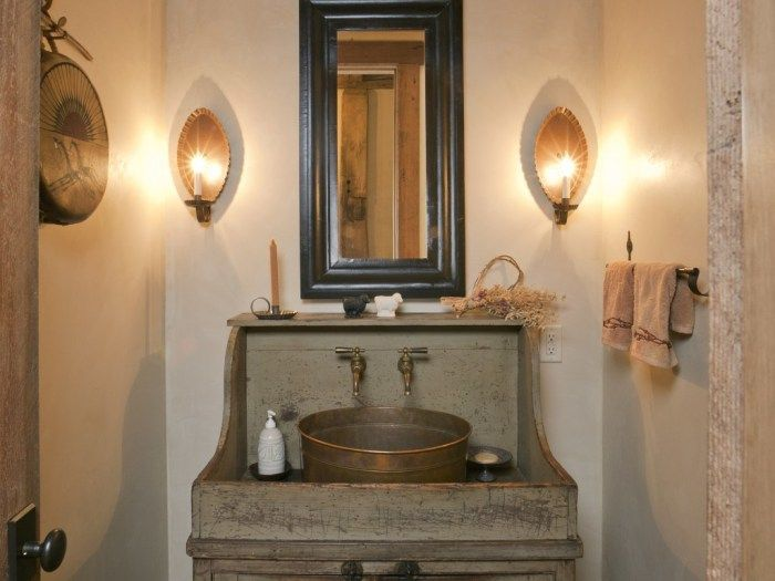 youve selected your sonoma forge faucet here are 24 inspiring ideas for - Rustic Bathroom Lighting Ideas