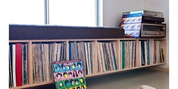 Die besten 17 Bilder zu record shelves auf Pinterest  Vinyl ...