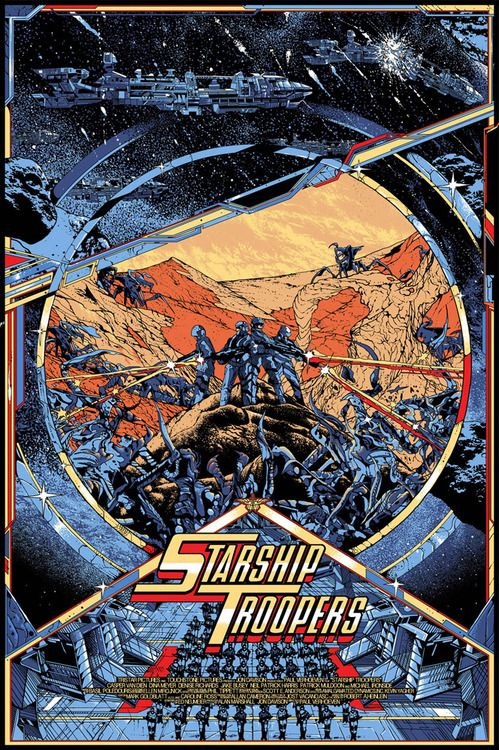 Starship Troopers - Killian Eng <--- It's cheesy as all whatnot, but plenty of gooey, bug-blasting, people-chomping fun.  XD