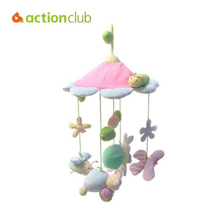 ==> [Free Shipping] Buy Best Actionclub animals flower baby toy newborn infant eyes hands training mobile baby music rattles stroller bed hanging kid toys Online with LOWEST Price | 32311448098